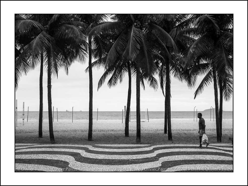 Br004 Brésil copacabana rio de janeiro Olivier Perrin