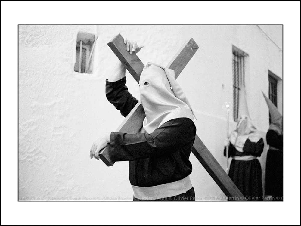 Es002 Andalousie Arcos de la Frontera Semaine sainte