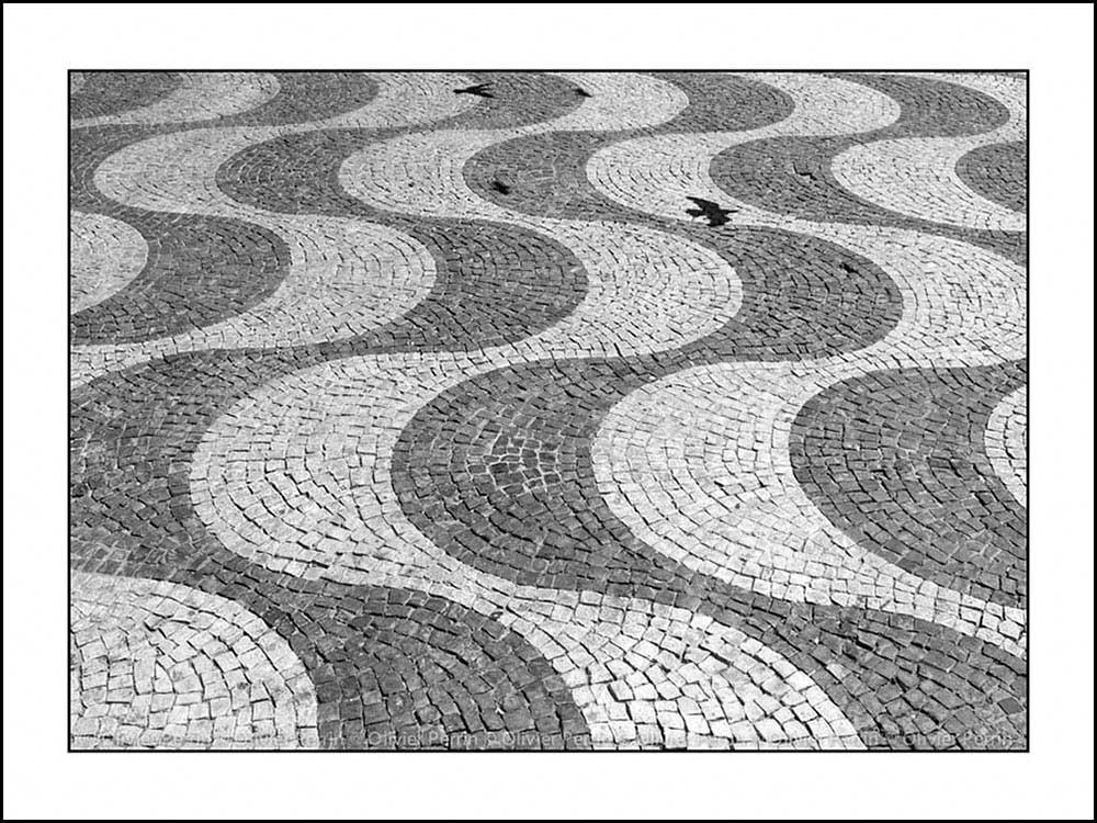 Lx025 Lisbonne Portugal rossio calcada