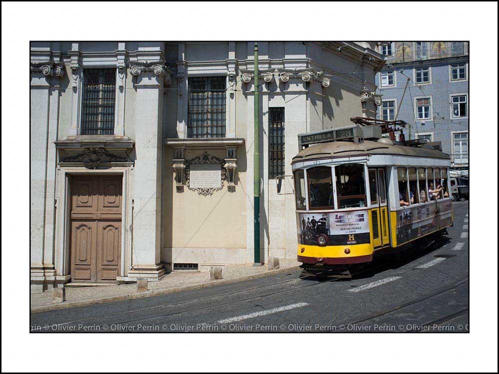 Lx038 Lisbonne Portugal tramway 28