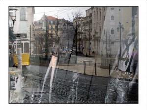 R002 reflet lisbonne place de camoes
