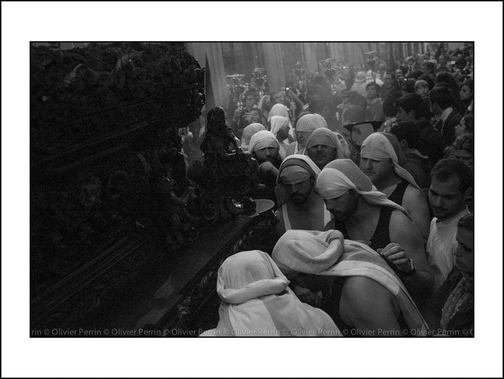 Es021 Andalousie Seville Semana santa