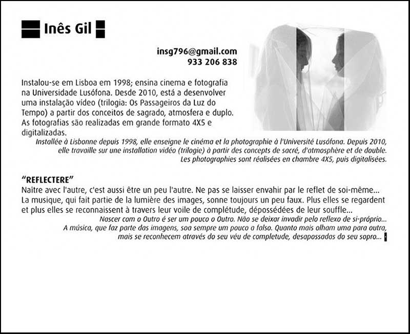 Ines Gil exposition collective de photographie