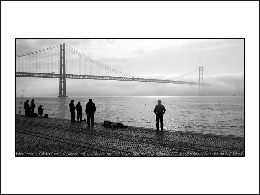 Lx009 Lisbonne. Portugal pont 25 avril christ roi