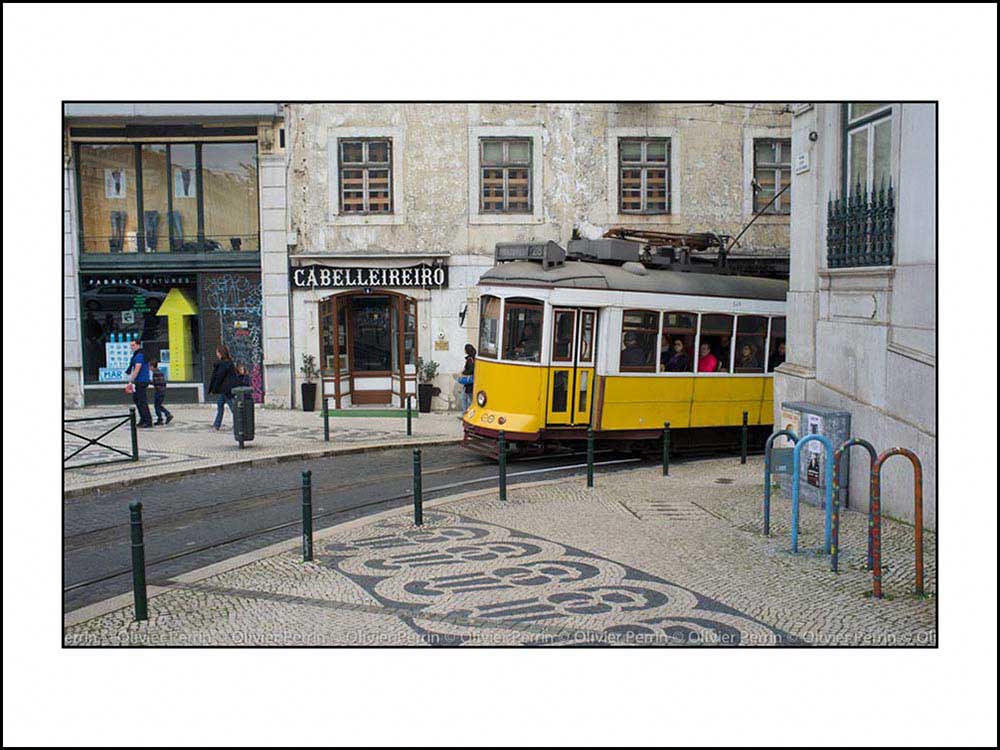 Lisbonne. Portugal tramway 28