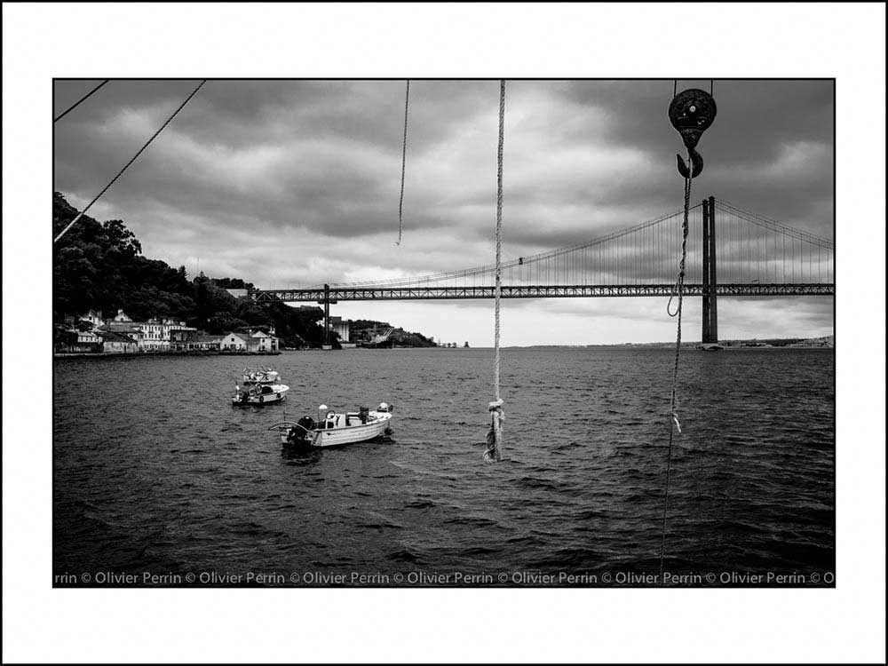 Lisbonne. Portugal pont 25 avril