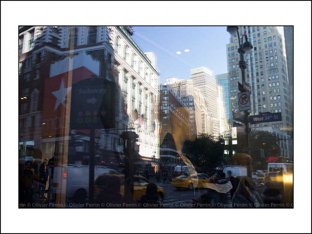 NY012 reflet new york 5 eme avenue