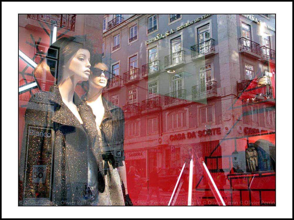 reflet lisbonne chiado rue garrett