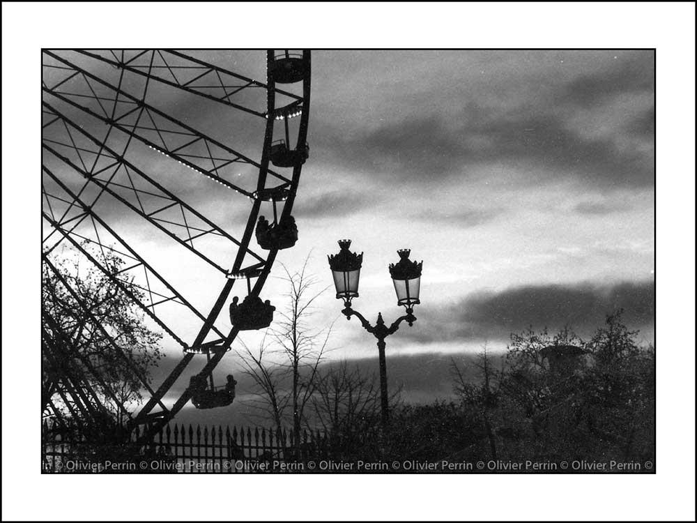 Grande Roue des Tuileries. France